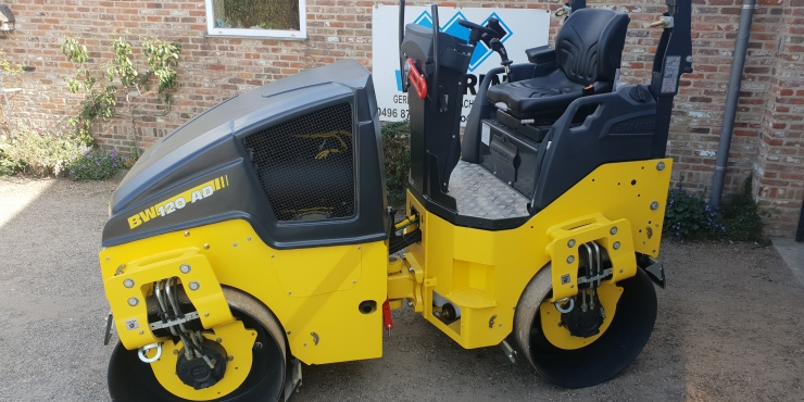 Zitwals BOMAG 2.6 TON